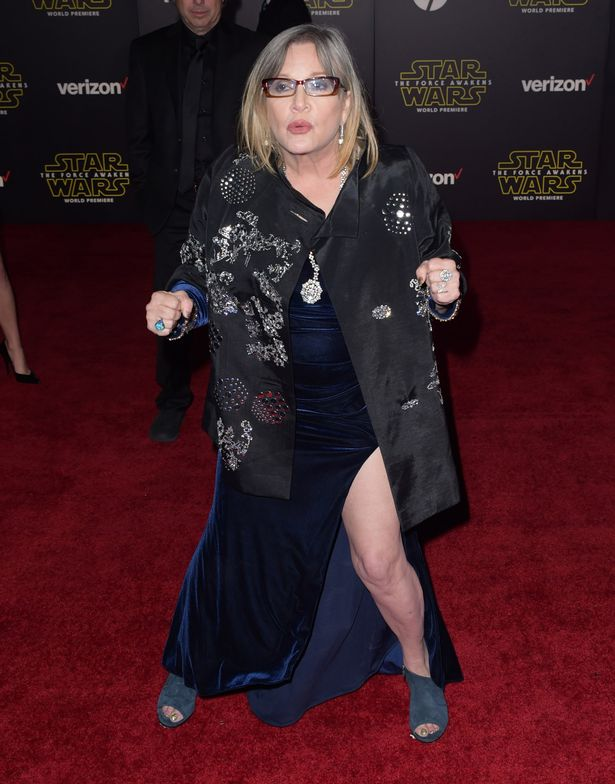 carrie-fisher-at-premiere-of-walt-disney-pictures-and-lucasfilms-star-wars-the-force-awakens